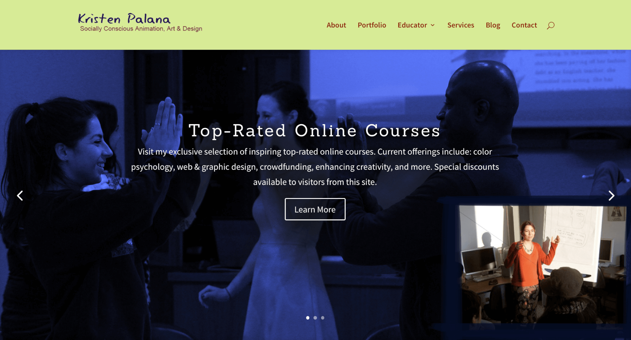 Episode 6 The Plunge A Divi Website Redesign Kristen